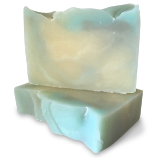 Tempest Cream Plaid & Rose Soap